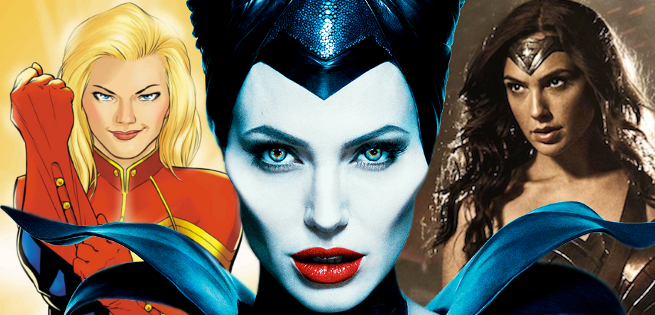 could angelina jolie direct captain marvel or wonder woman