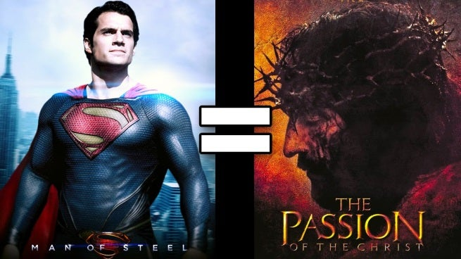 24 Reasons The Passion Of The Christ And Man Of Steel Are The Same Movie