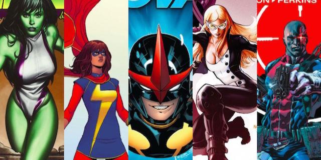 Marvel Network Television Banner