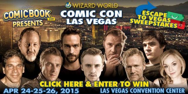 Win A Trip To Wizard World Las Vegas!