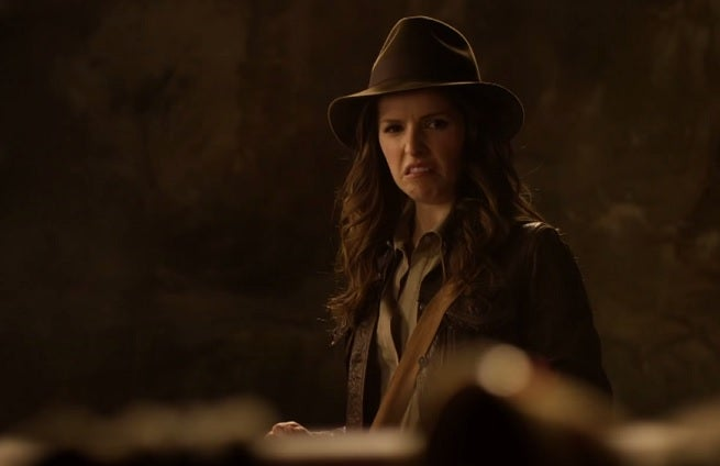 Pitch Perfect Star Anna Kendrick Does Her Own Indiana Jones Reboot