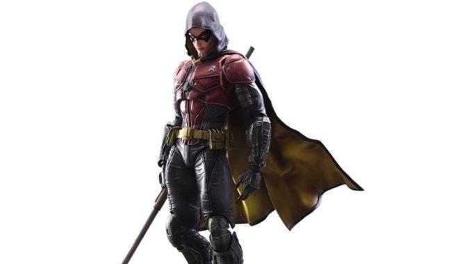 Batman: Arkham Knight Robin Play Arts Kai Action Figure ...