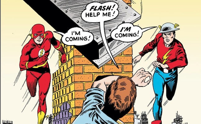 classic flash two worlds
