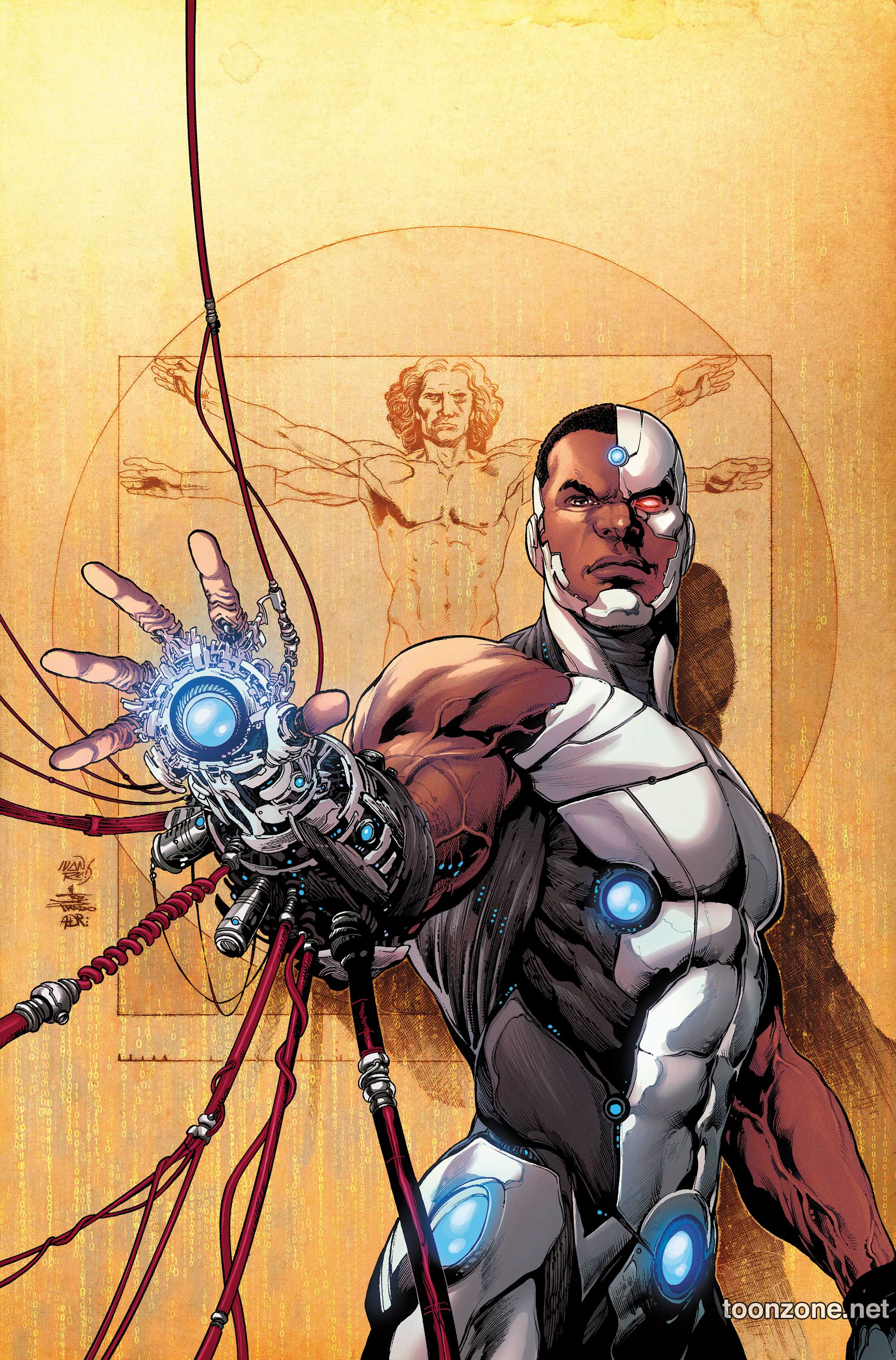 Dc Comics Fans : Comics dc reveals cyborg s all new look