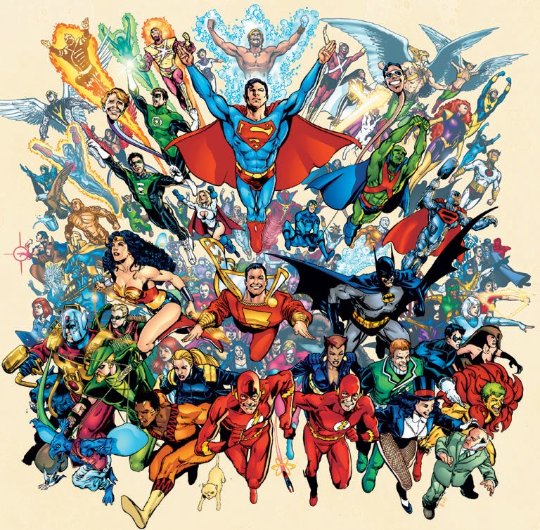 Dc Comics Fans : Five dc comics properties we would like to see on television