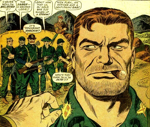 Great military comic book heroes