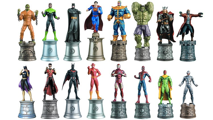 It's Marvel Vs. DC In A Chess Game