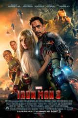 Iron Man 3 movie poster image