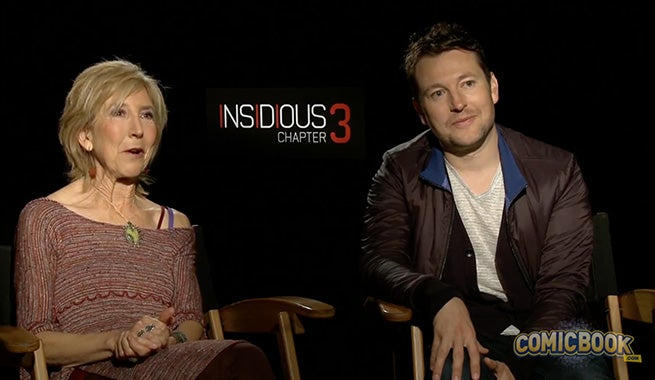 Lin Shaye & Leigh Whannell Talk Insidious: Chapter 3