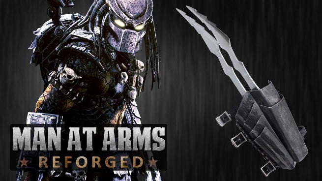 Man At Arms Builds Predator Blades From Alien Vs  Predator