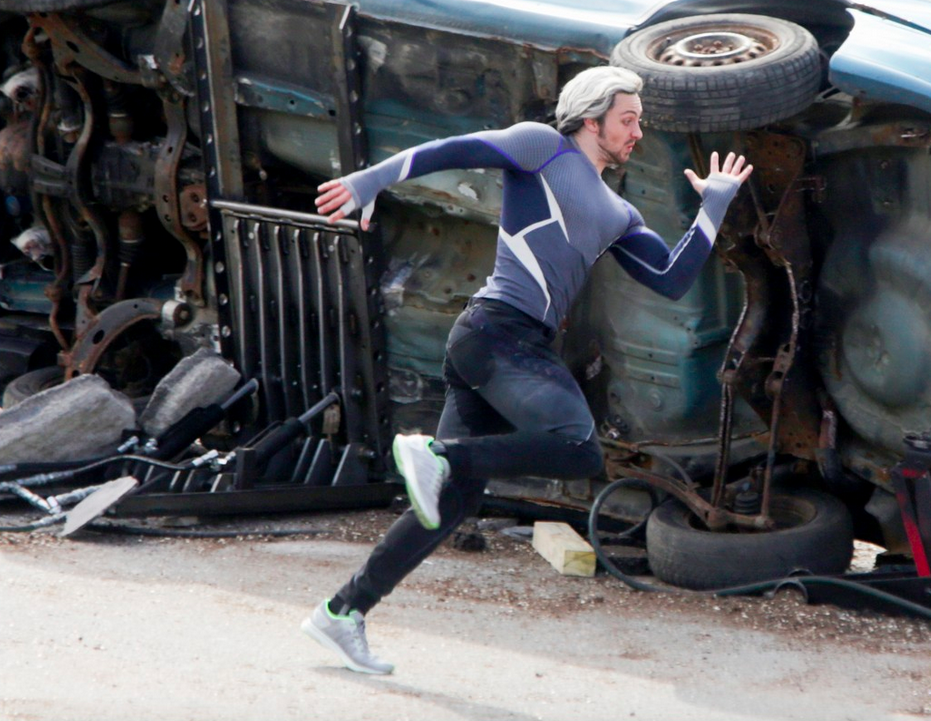 New Avengers: Age of Ultron photos reveal Quicksilver and Scarlet ...