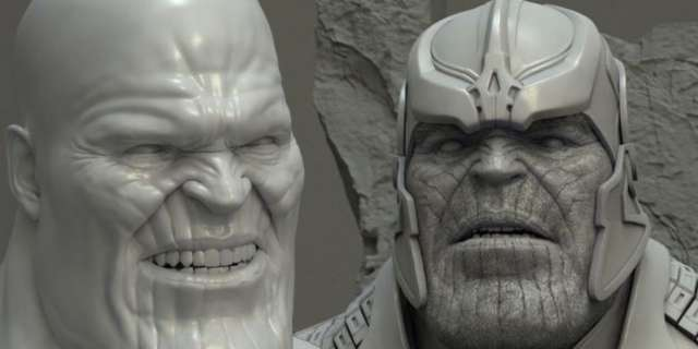 Video Thanos Vfx Breakdown For Marvel S Guardians Of The
