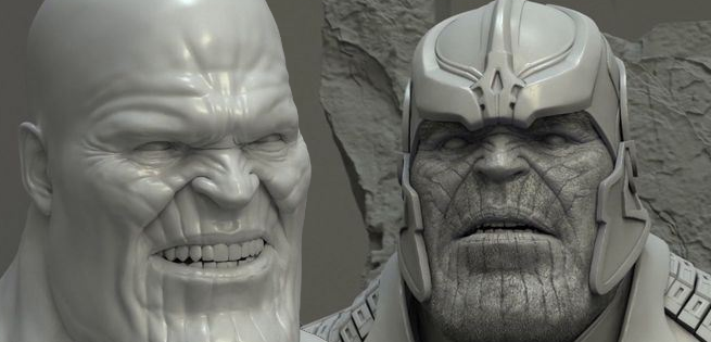 Image result for thanos vfx breakdown