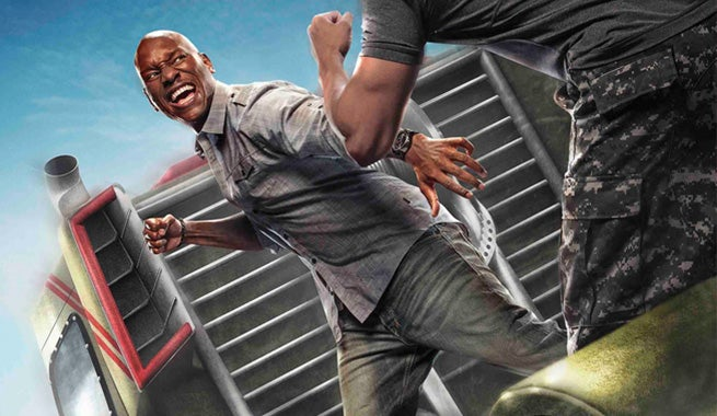 First Look At Tyrese Gibson In Fast & Furious: Supercharged