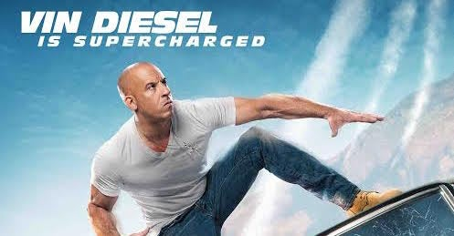 Vin Diesel Featured On Fast & Furious: Supercharged Poster