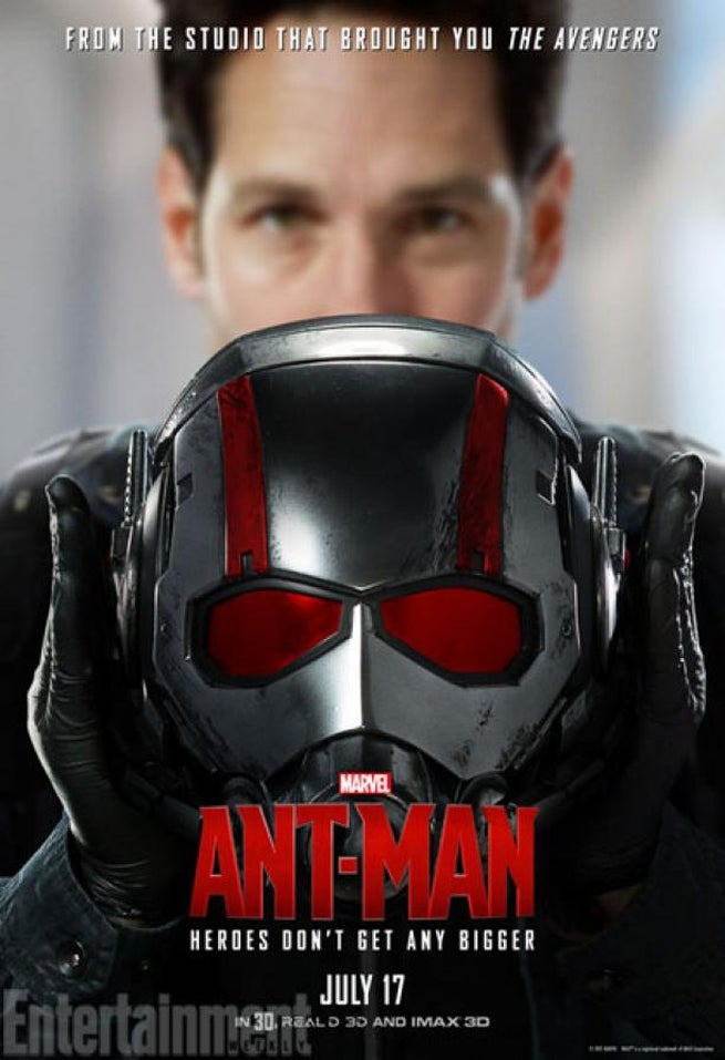Franchise Marvel/Disney #3 Ant-man-poster-01-141211