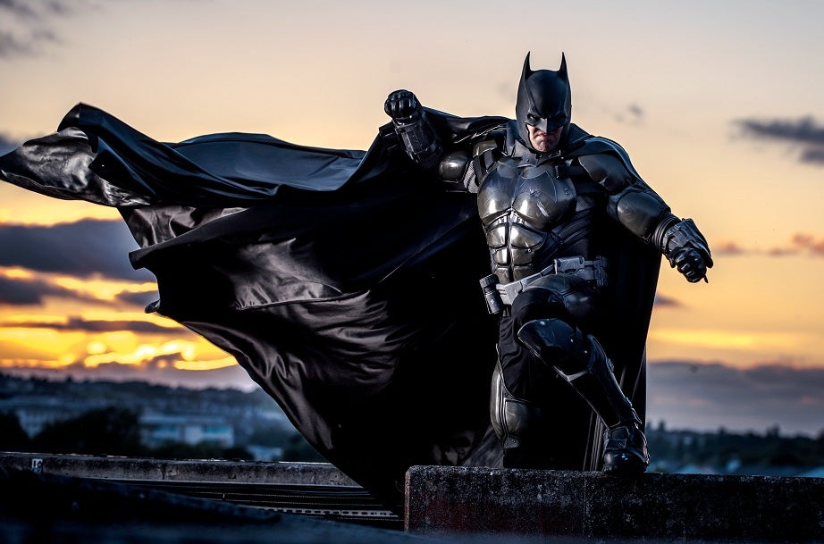 3 d printed batman arkham origins armor features real flame