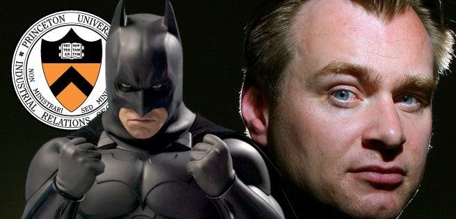 Christopher Nolan Says Princeton Graduates Are Better Than Batman