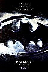 Batman Returns movie poster image