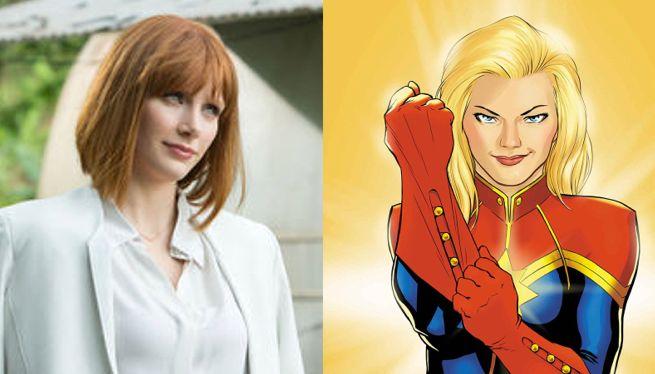 Bryce Dallas Howard Wants To Play Captain Marvel