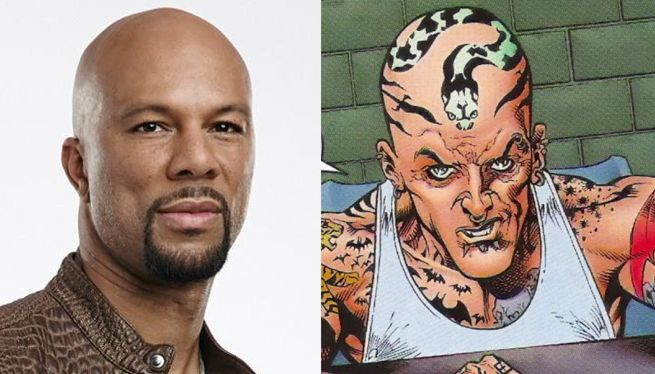 Suicide Squad Do Set Photos Reveal Common as The Tattooed Man?