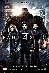 Fantastic Four (2015) movie poster image