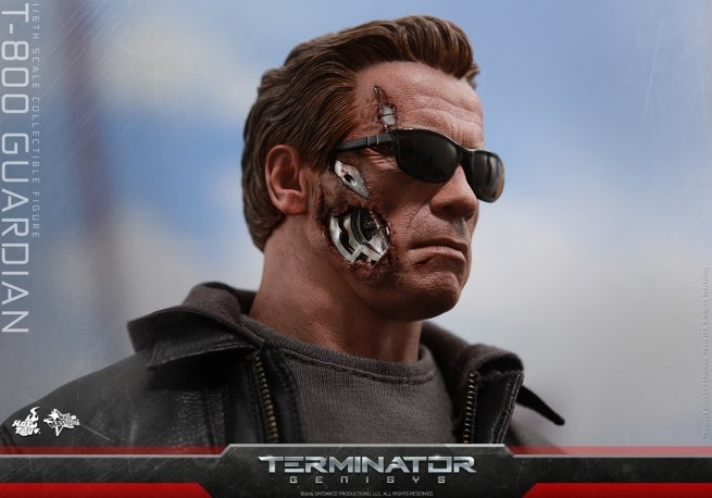 Terminator Genisys T-800 Guardian Figure Revealed By Hot Toys
