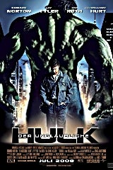 The Incredible Hulk movie poster image