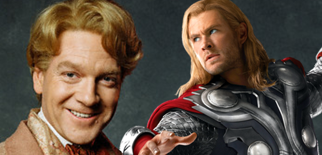 Rumor: Marvel Wants Kenneth Branagh To Direct Thor 3