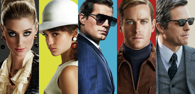 """Henry """"Superman"""" Cavill Featured In First Clips From The Man From U.N.C.L.E."""