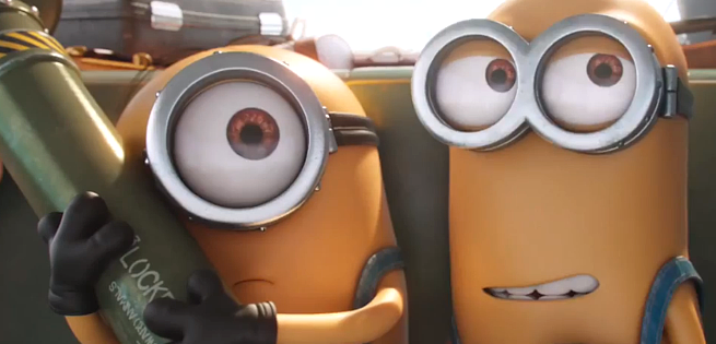 Minions Headed To Villain-Con In First Clip From Despicable Me Spinoff