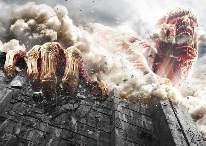 Live Action Attack On Titan Images Show New Character And More