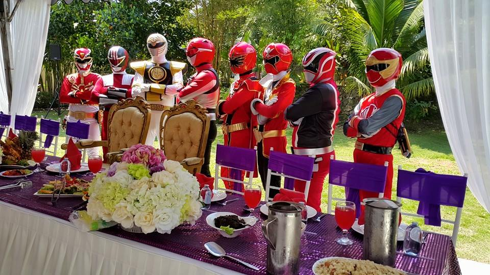 Power Rangers Crashed This Couples Wedding