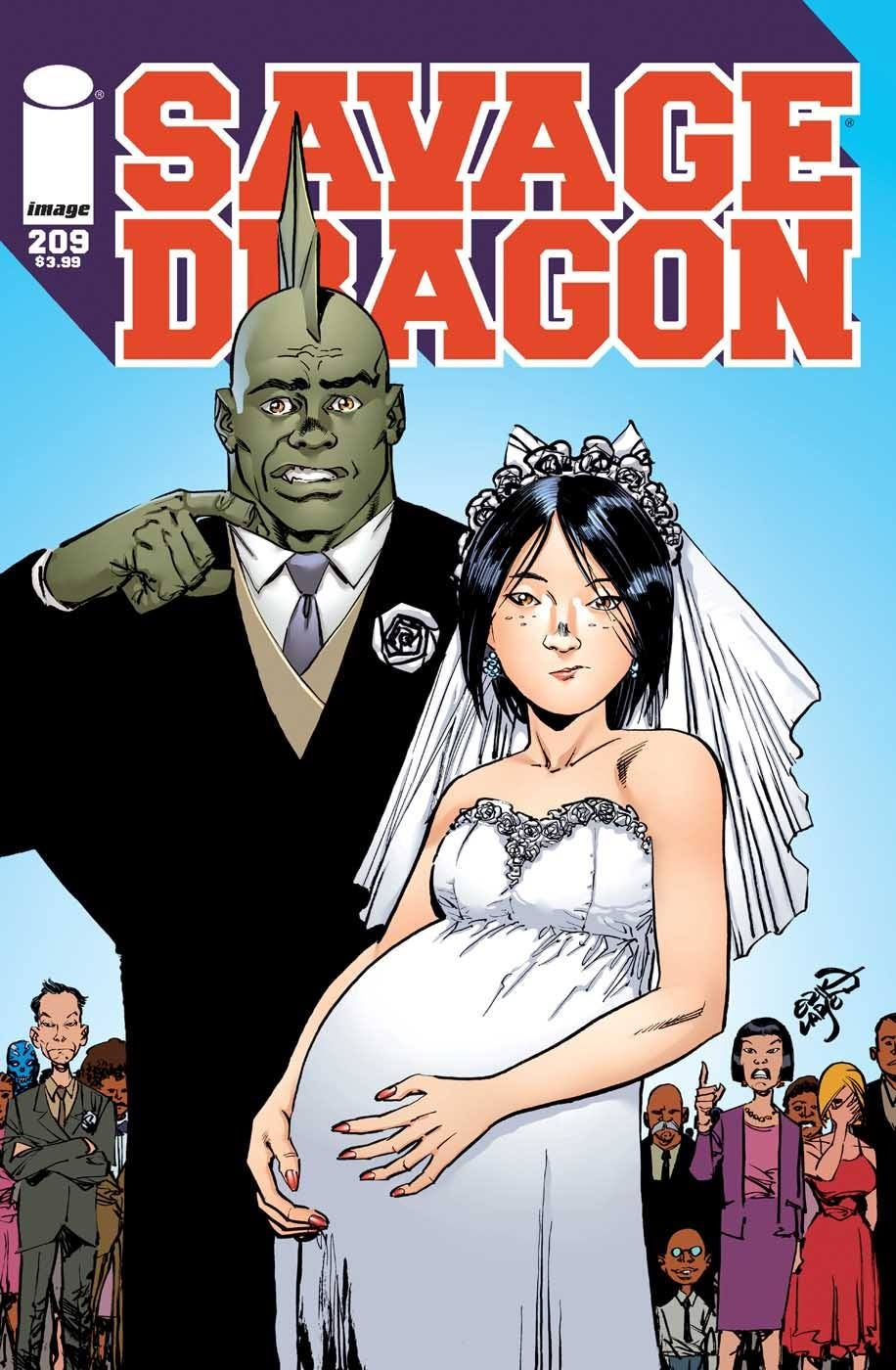 Impreg Comics Minimalist a shotgun wedding for savage dragon?