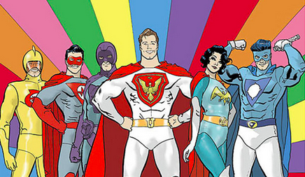 Justice league gay