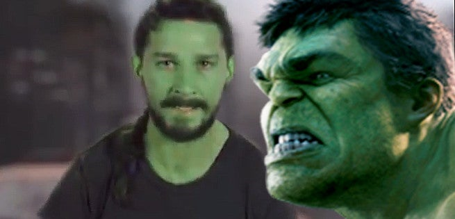 Shia LaBeouf's Deleted Cameo In The Avengers Parody Video