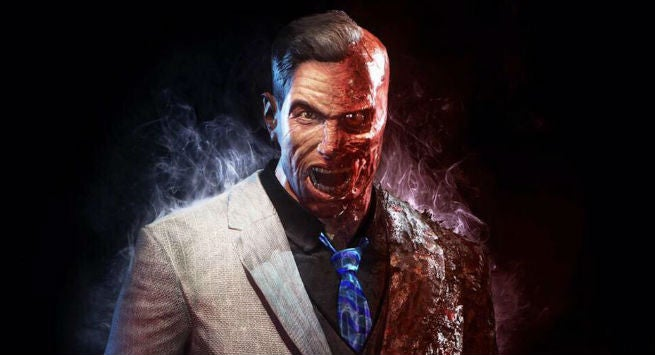 Image Gallery two face arkham