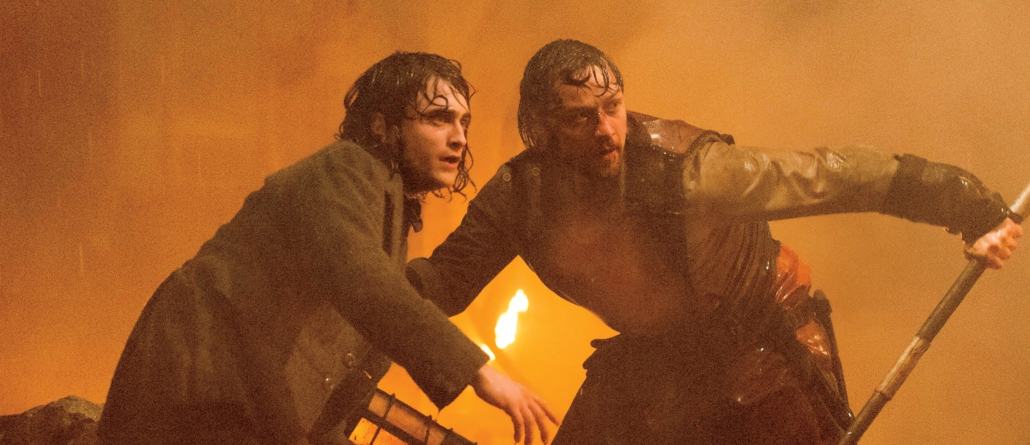 Victor Frankenstein New Look At James McAvoy And Daniel Radcliffe