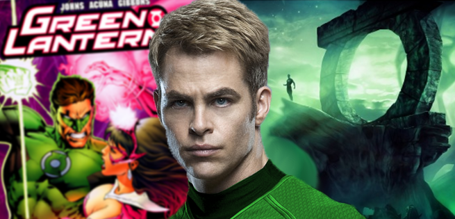 Chris Pine Says He Was Not Offered Green Lantern Role