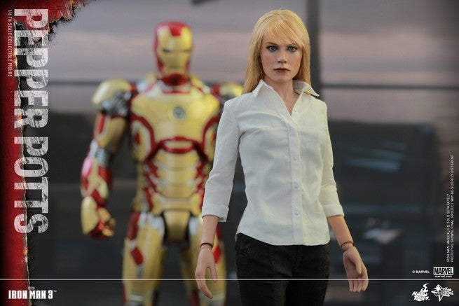 Iron Man 3 Pepper Potts Collectible Figure Revealed By Hot Toys