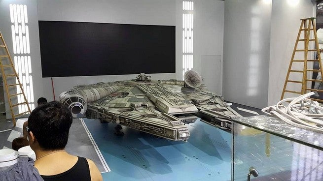 Check Out This Huge Millennium Falcon Toy From Hot Toys