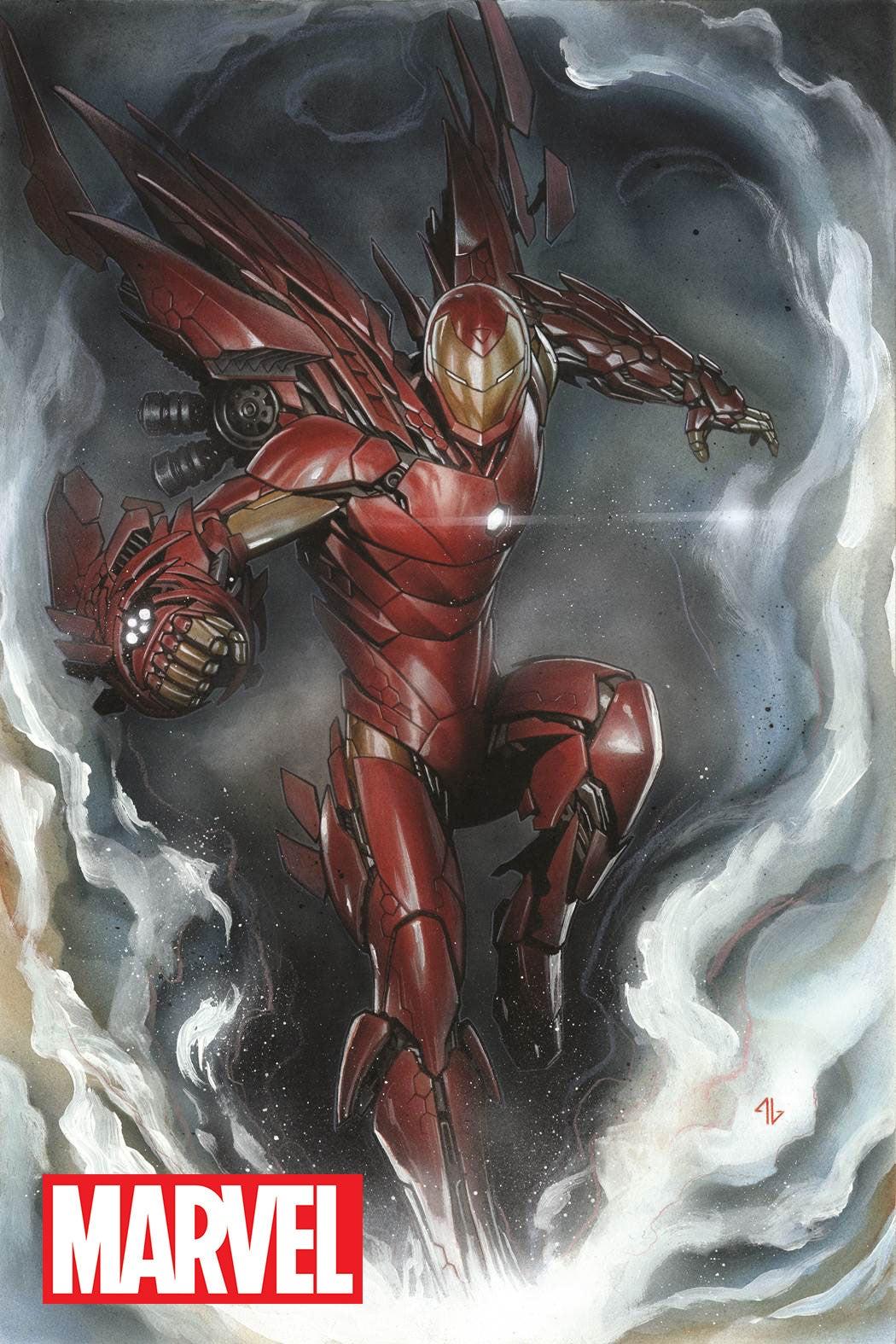 """[QUADRINHOS] Marvel Comics (EUA) - """"Reboot""""! - Página 24 Invincible-iron-man-1-granov-variant-145953"""