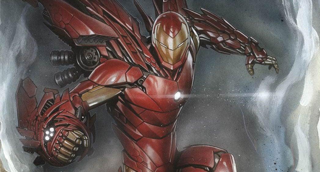 Invincible Iron Man 1 Granov Variant