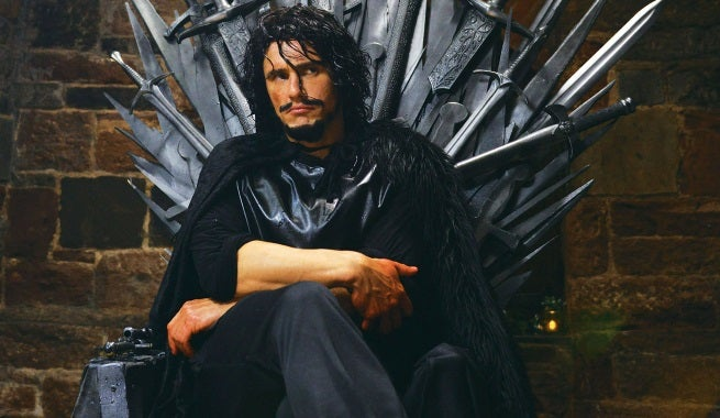 James Franco Dresses As Game Of Thrones' Jon Snow For Making A Scene Teaser