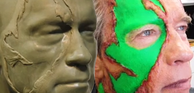Terminator Genisys: Making Of Full-Size Replica Of Arnold Swarzenegger From 1984