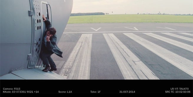Tom Cruise Gets Terrified in Mission Impossible: Rogue Nation Stunt