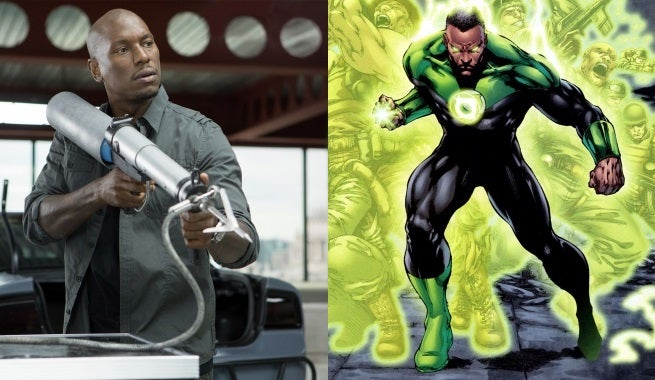 Tyrese Gibson Confirms Green Lantern Corps. Meeting With Warner Bros.