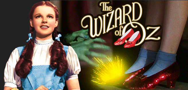 $1 Million Reward Offered For Stolen Wizard Of Oz Ruby Slippers
