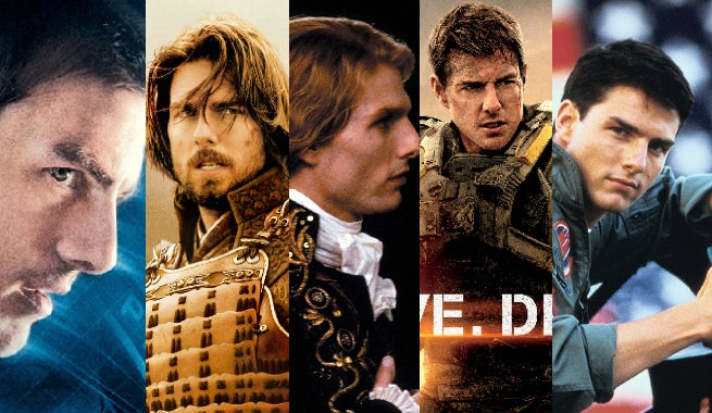 Tom Cruise's Top Five Movies