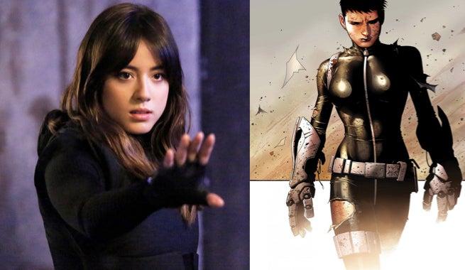 Chloe Bennet Teases Her Quake Costume For Agents Of S.H.I.E.L.D. Season 3